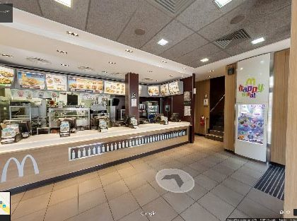 Tour Virtuale McDonalds