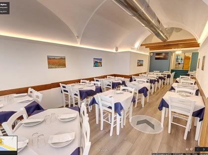 Tour Virtuale mythos ristorante greco salerno