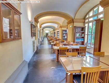 Università Suor Orsola Benincasa Virtual Tour Biblioteca Erminia Capocelli