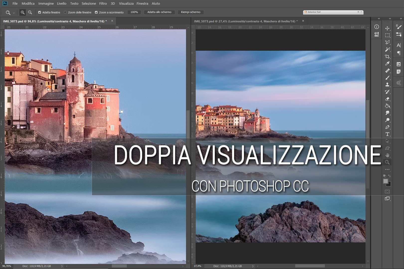 Photoshop Tutorial Doppia Visualizzazione